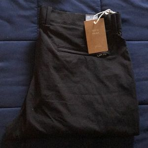 J. Crew tech pant, with tag